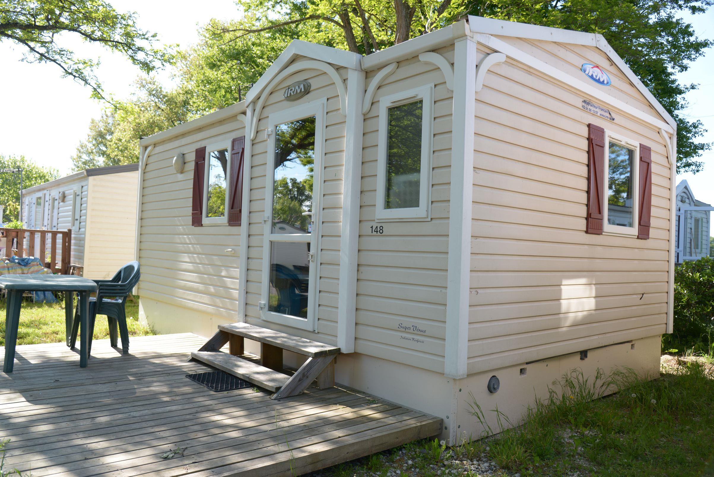 Location - Mobilhome Decouverte 2 Chambres - Camping Caravaning de Rupé
