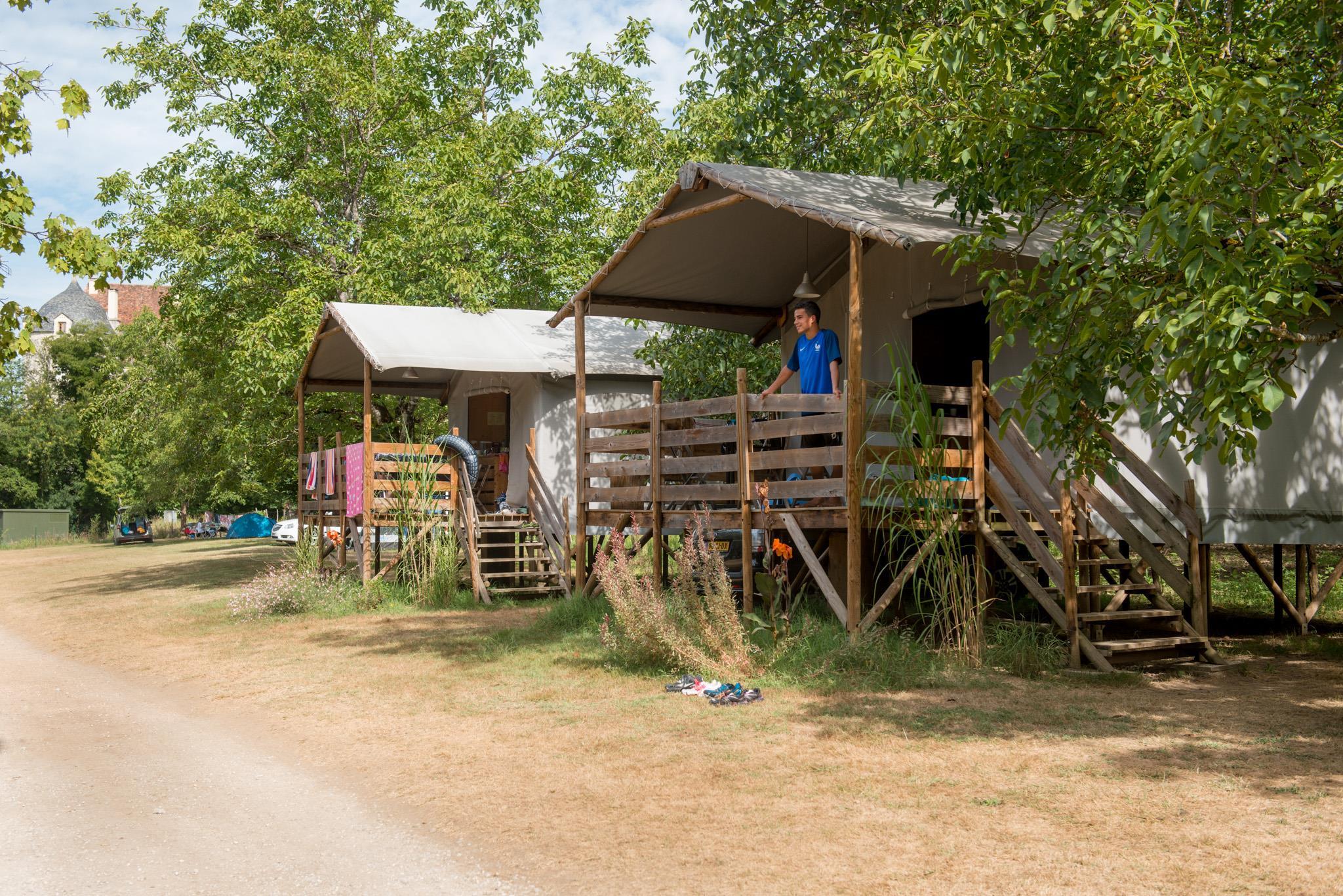 Camping du Port, Creysse, Lot