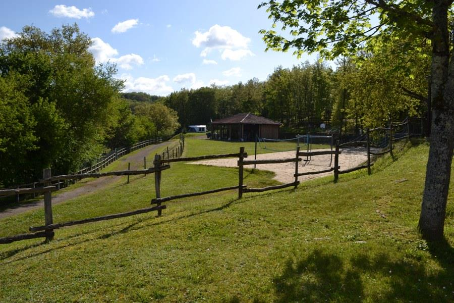 Camping Domaine le Quercy, Gourdon, Lot