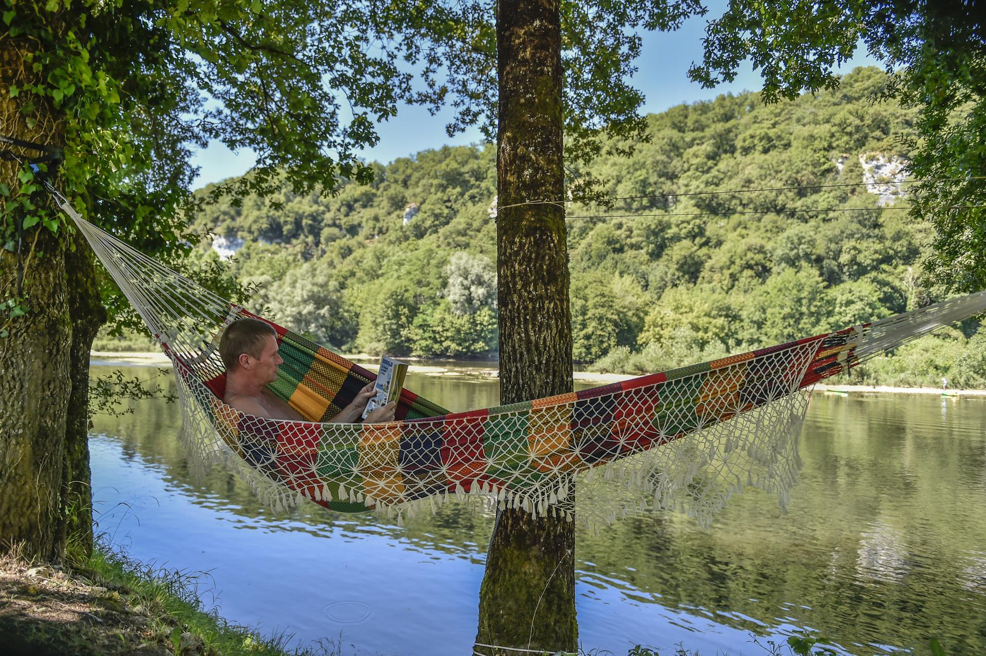Camping la Riviere, Lacave, Lot