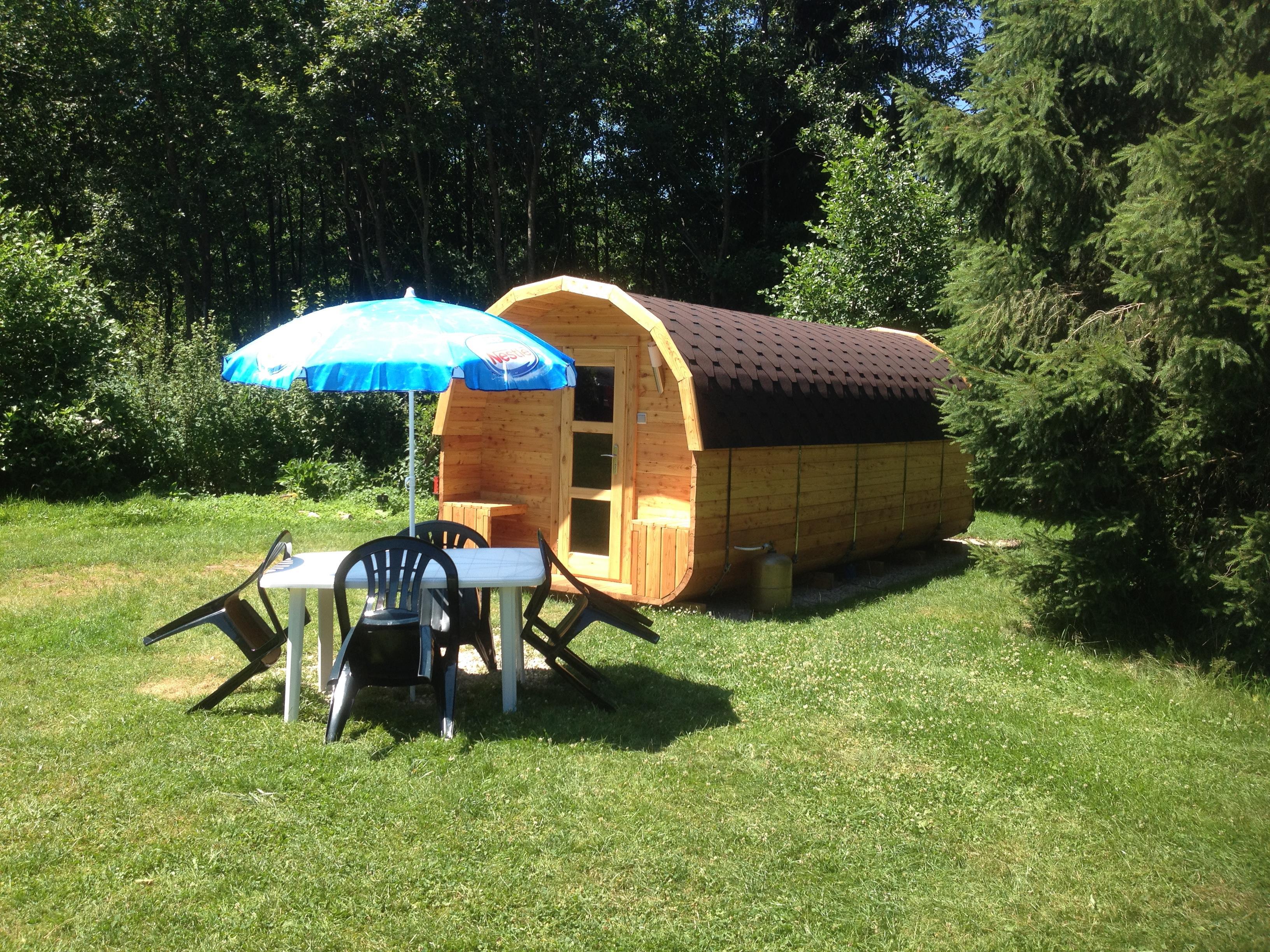 Camping au Mica, Corcieux, Vosges