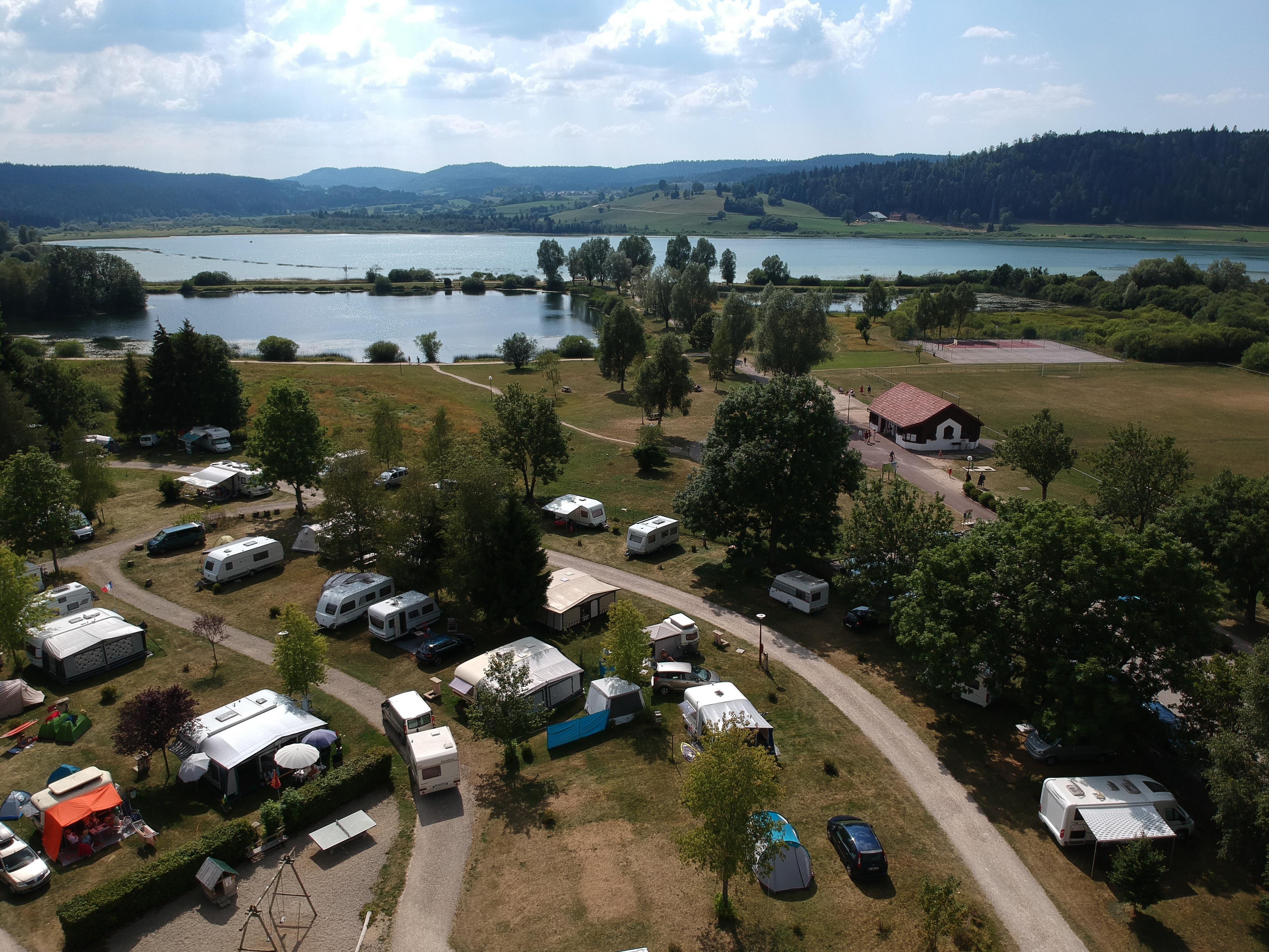Camping du Lac, Labergement-Sainte-Marie, Doubs