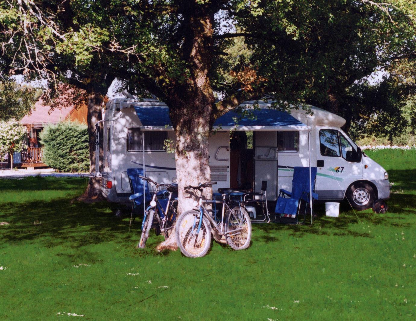 Camping le Roc, Rocamadour, Lot
