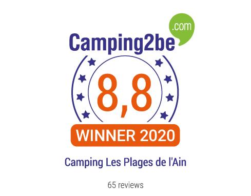 Lire les avis du Camping Les Plages de l'Ain