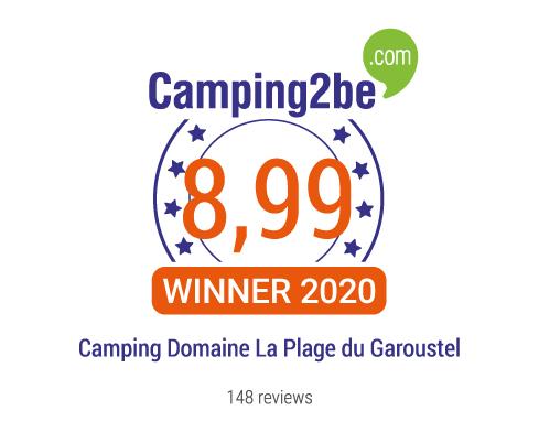 Lire les avis du camping Camping Domaine La Plage du Garoustel