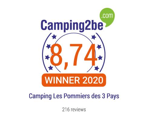 Lire les avis du Camping Les Pommiers des 3 Pays
