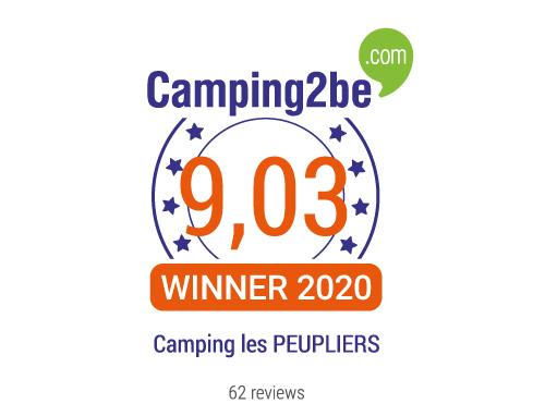 Lire les avis du Camping les PEUPLIERS