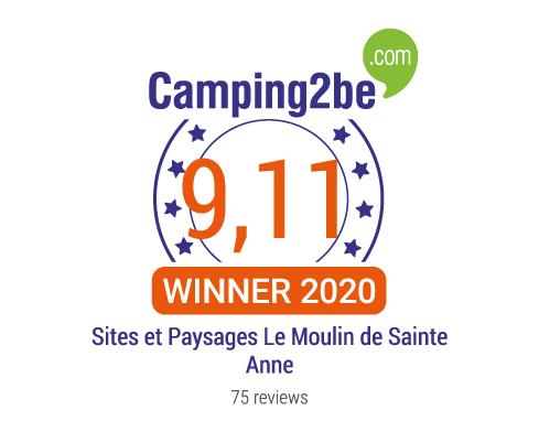 Lire les avis du camping Sites et Paysages Le Moulin de Sainte Anne