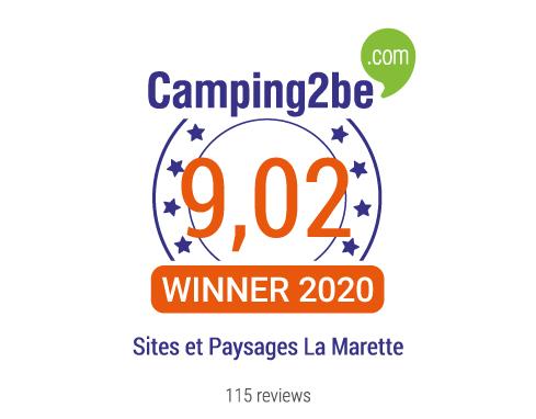 Lire les avis du camping Sites et Paysages La Marette