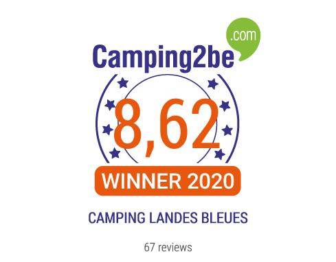 Lire les avis du camping CAMPING LANDES BLEUES