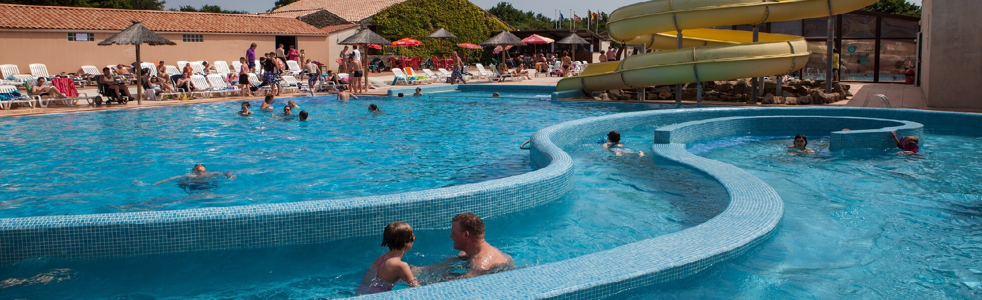 Campsites with waterpark
