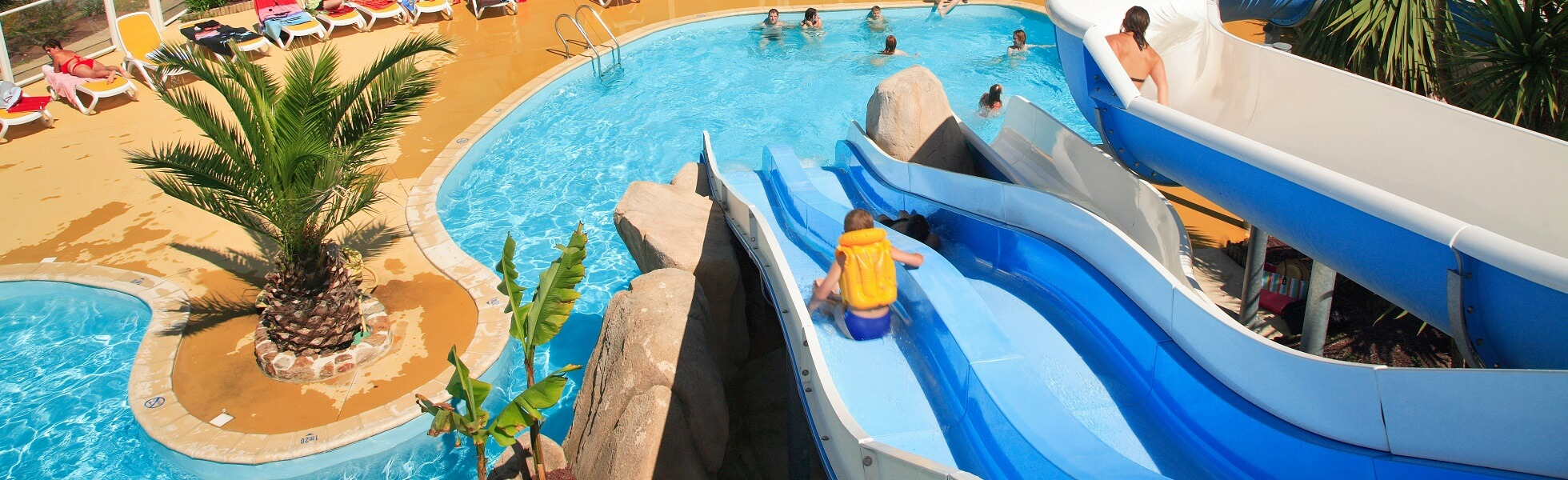 Nos campings avec parc aquatique