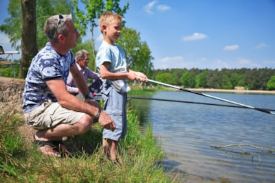 Fishing in rivers, seas, lakes and ponds