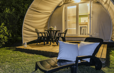 GLAMPING - CHIC & ATYPIQUE