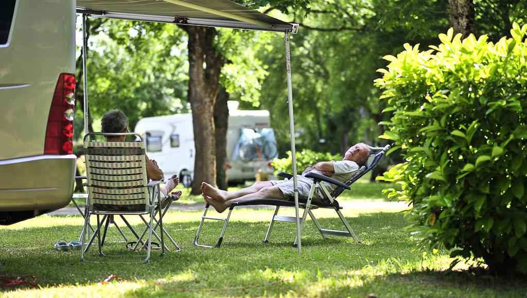 Parcela camping