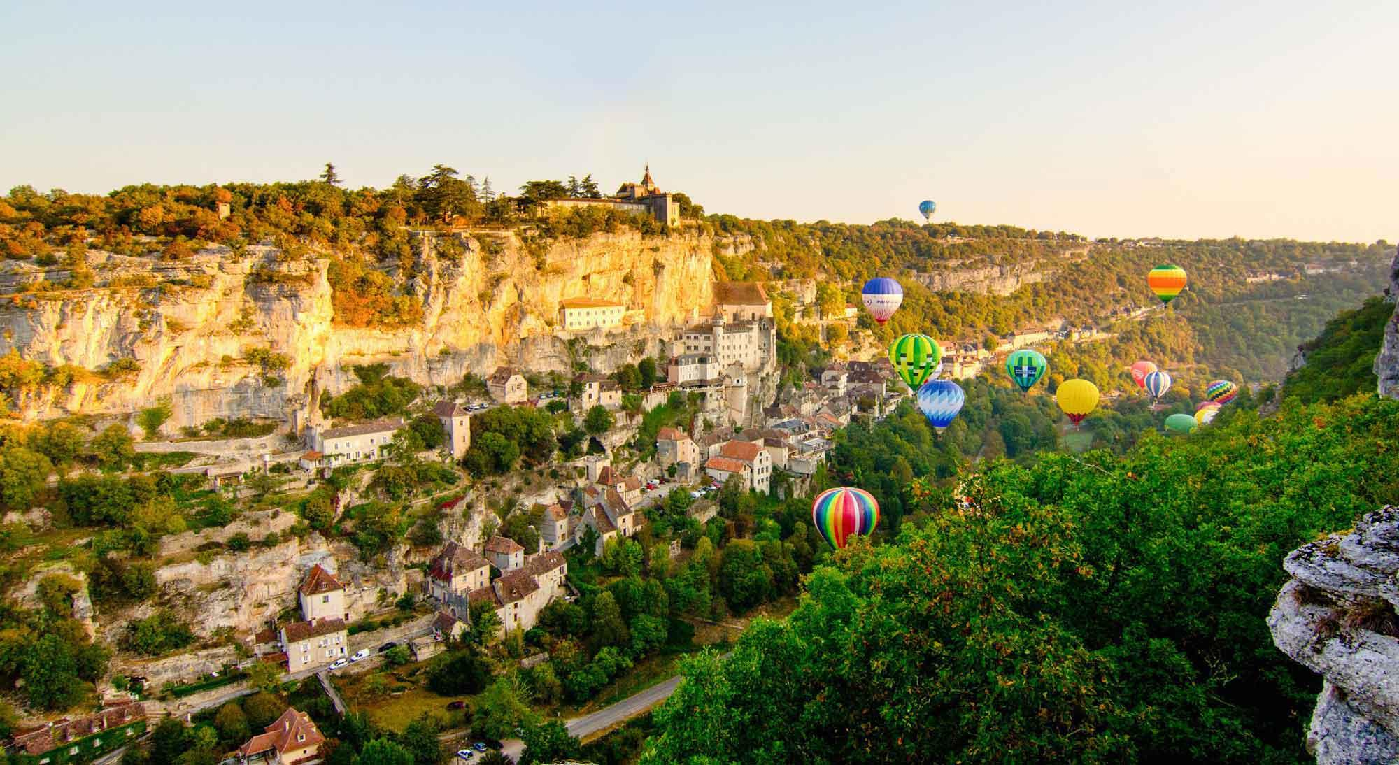 Establishment Camping Les Tilleuls - Rocamadour