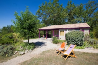Chalet Rêve Premium 34m² (2 bedrooms) sheltered terrace + TV