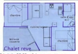 Rental - Chalet Rêve Confort 28m² (2 bedrooms) view + TV - Castel Domaine De La Faurie
