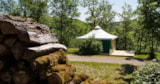 Rental - Canvas Bungalow Eco 16m² (2 bedrooms) without toilet block - Castel Domaine De La Faurie