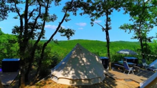 Glamping Tent - Two Tents Per Pitch