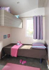 Rental - MOBIL HOME ACCESS - 2 bedrooms - adapted to the people with reduced mobility - Castel Domaine de La Paille Basse