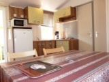 Rental - Mobile home Super Titania 32m² - 3 bedrooms - Camping Les Amarines
