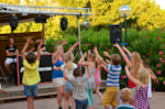 Entertainment organised Camping Les Amarines - Goudargues
