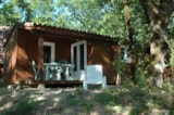 Rental - Chalet with covered terrace - Camping LA TRUFFIERE à Saint Cirq Lapopie