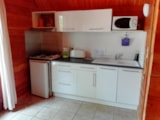 Rental - The authentic wooden chalet duplex - Camping LA TRUFFIERE à Saint Cirq Lapopie