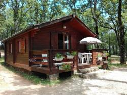 AUTHENTIQUE CHALET BOIS 5 PLACES grande terrasse plain pied
