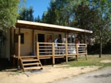 Rental - Bungalow Louisiane Flores - Camping LES GRAVES