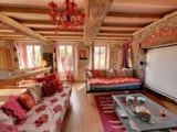 Rental - Holiday Home LOVEY NATURE - Camping Les Rochers des Parcs
