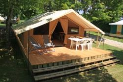 Tent Lodge Nature (2 kamers / 4 personen)