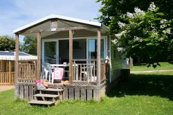 Huuraccommodaties - Cottage PADIRAC - 2 Kamers - Camping Sites et Paysages LE VENTOULOU