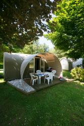 Huuraccommodaties - Coco Sweet Quatro (2 kamers) - Camping Sites et Paysages LE VENTOULOU