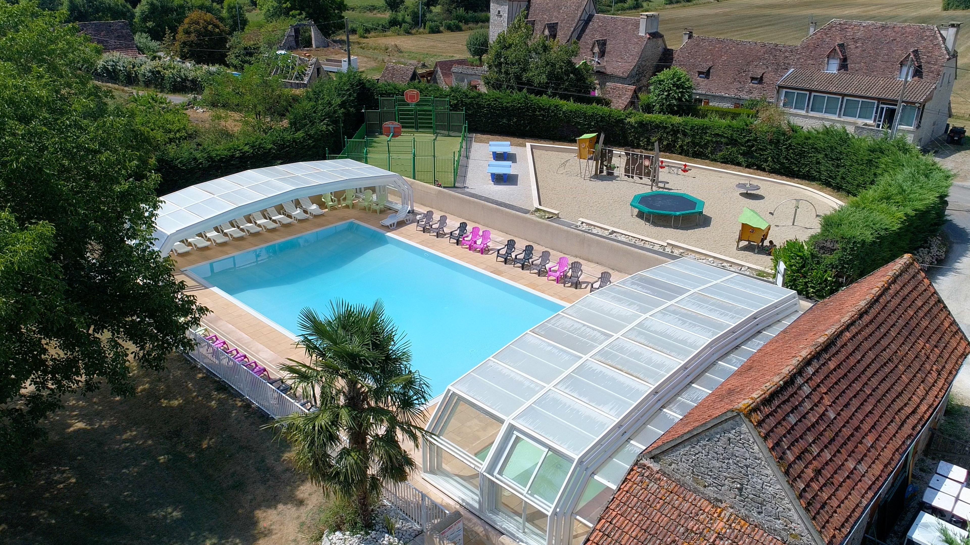 Camping Sites et Paysages le Ventoulou, Thegra, Lot
