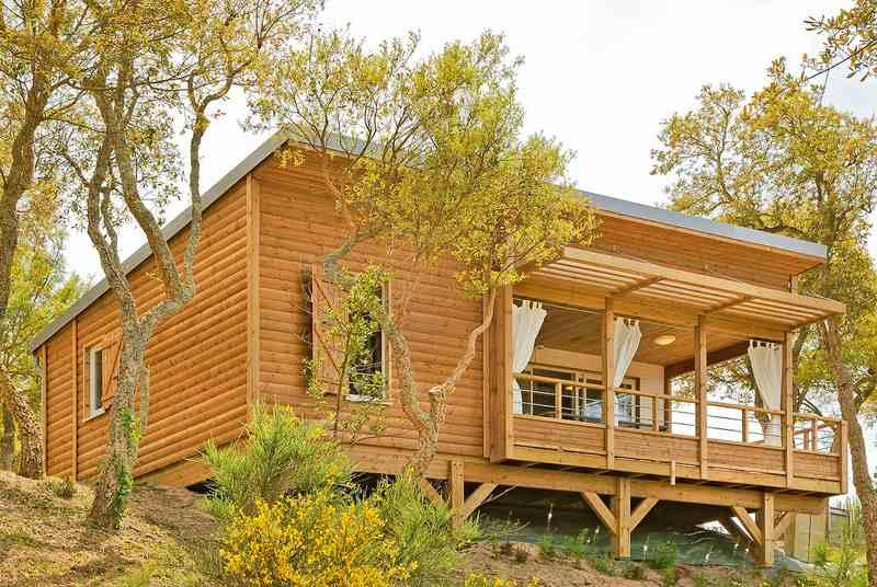 Location - Chalet Confort - 2 Chambres - Camping du Lac