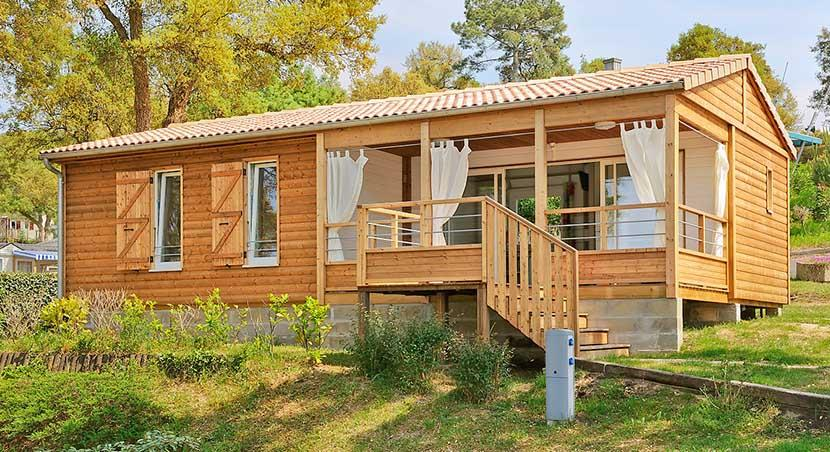 Location - Chalet Confort - 3 Chambres - Camping du Lac