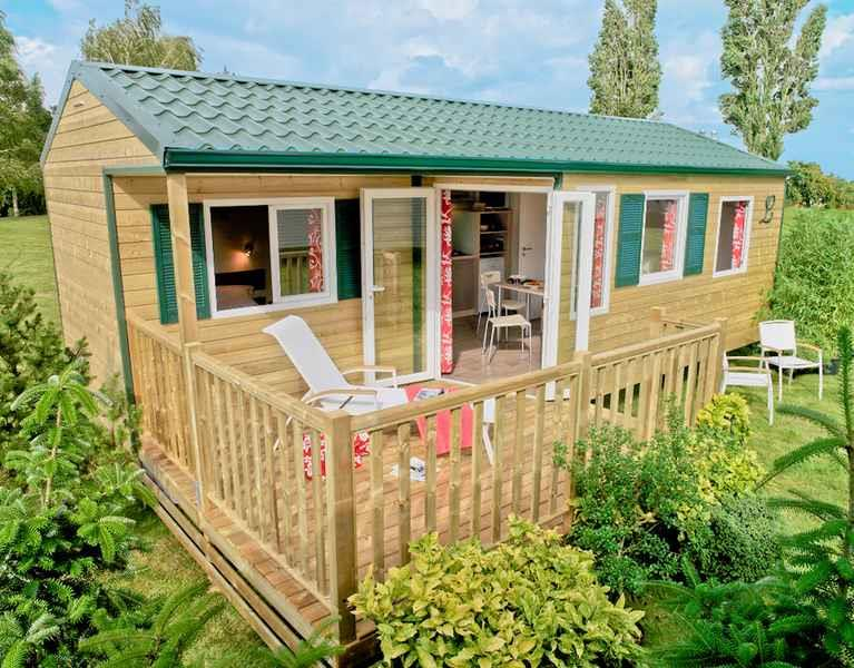 Locatifs - Cottage Pacific - Camping du Lac