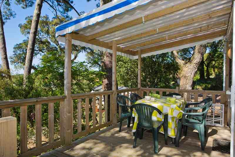 Location - Cottage 3 Chambres - Camping du Lac