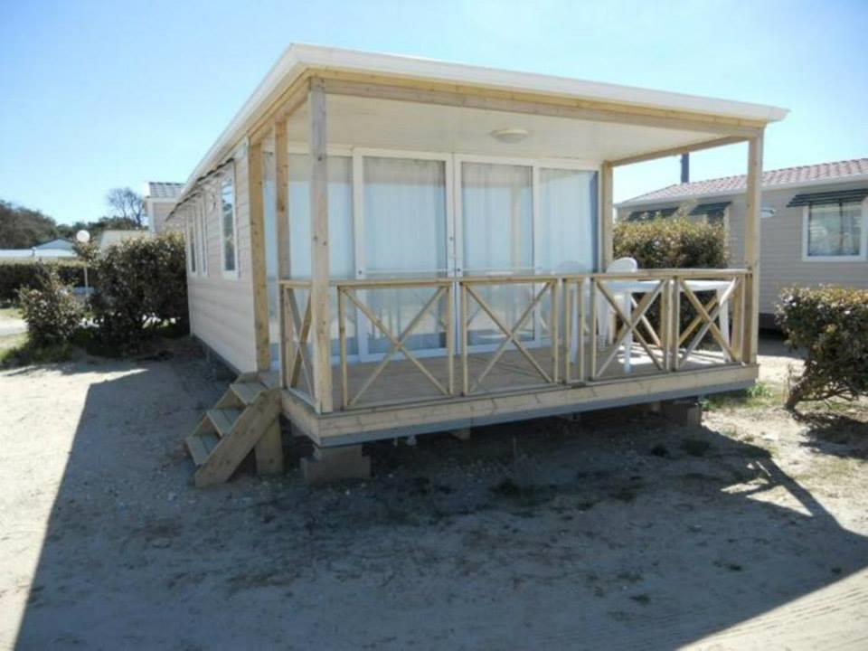 Location - Mobil-Home Ophea Front De Mer 33M² / 2 Chambres - Terrasse - Camping Les Sables d'Argent