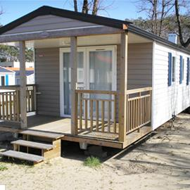 Location - Mobil-Home Evolution 27M² / 2 Chambres  - Terrasse - Camping Les Sables d'Argent