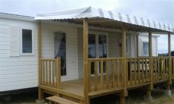 Mobilhome Premium (3 rooms, 2 bathrooms) with terrace 40 m²