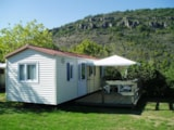 Rental - Lockysun Mobile home 23-25m² -  Saturday or Friday -  extra charge for the 5th person - Camping de la Cascade
