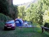 Pitch - Natural Pitch Without Electricity , Tent, Car - Camping de la Cascade