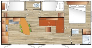 Visio Mobile Home 30M² - 3 Rooms