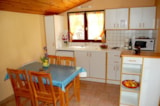 Rental - House-cottage 30-35m² - extra charge 5ème pers. - Tariff at the week (Friday/friday) - Camping de la Cascade