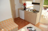 Rental - Locky Mobile home 21m² (economic + 10 years) -  Saturday or Friday -  extra charge for the 5th person - Camping de la Cascade