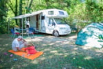 Pitch - Nature package location and space (with electricity) - Camping Sites et Paysages LA SOURCE DU JABRON