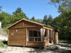 Mietunterkünfte - Chalet Confort 3 Bedrooms - Camping Sites et Paysages LA SOURCE DU JABRON